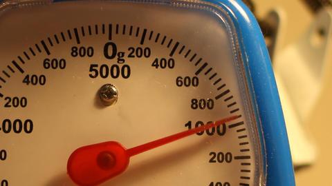 Weighing 1 Kilogram Footage