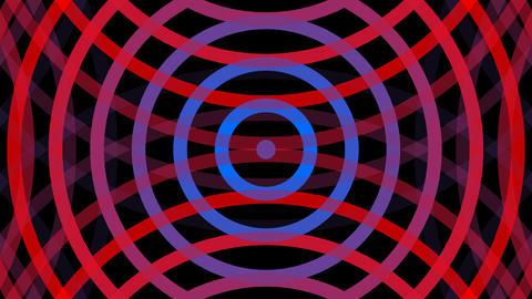 wave mirror stripe with alpha matte Animation