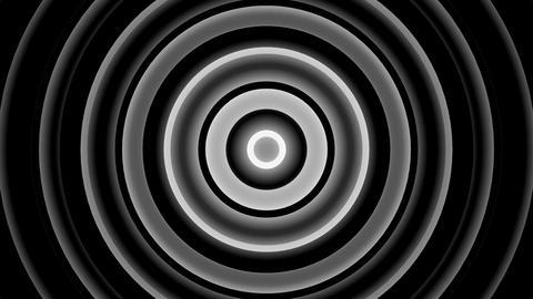 luma circle tunnel with alpha matte Animation