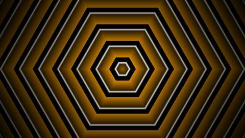 hexagon golden stripe with alpha matte