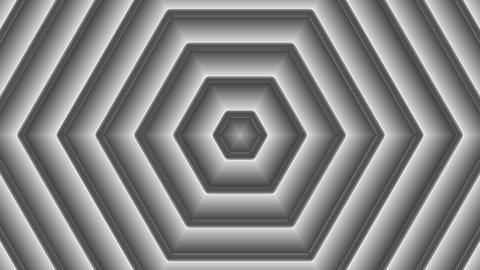 luminance hexagonal pattern with alpha matte Animation