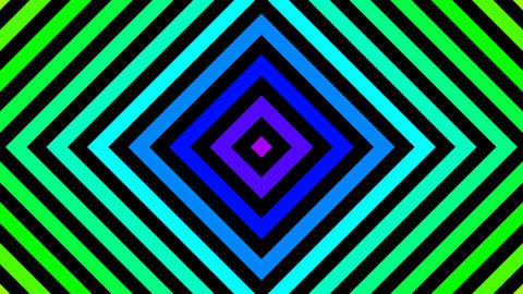 diamond rainbow color with alpha matte Animation