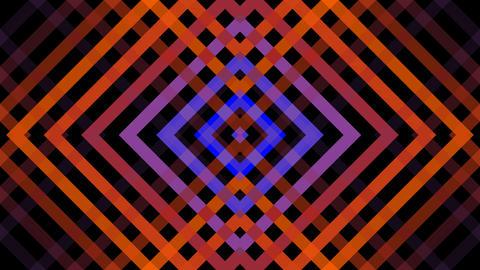 diamond mirror stripe with alpha matte Animation