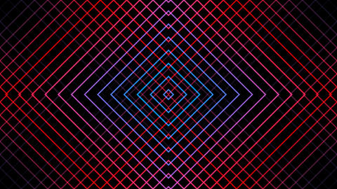 grid line reflected with alpha matte Animation