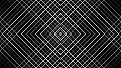grid wire line with alpha matte CG動画素材