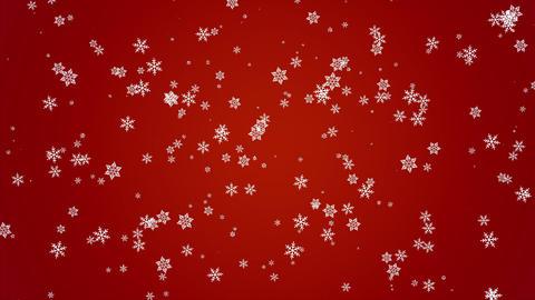 雪パーティクル赤 Animation
