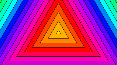 trigonal rainbow color with alpha Animation