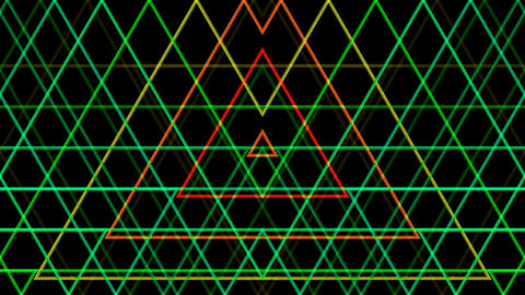 triangle line pattern with alph Animation