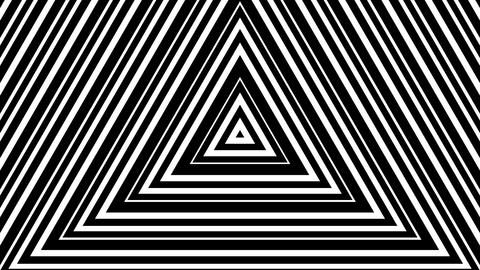 triangle line stripes with alpha matte Animation