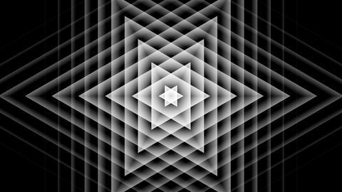 Triangle Star Luma With Alpha Matte stock footage