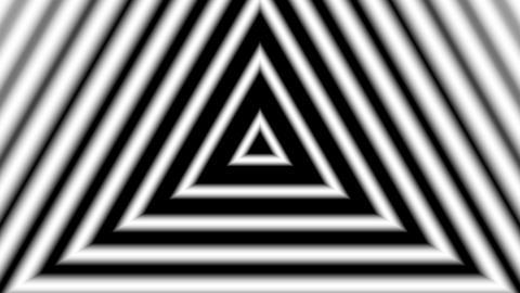 matte trigonal stripe with alpha matte Stock Video Footage