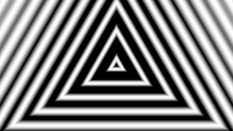 matte trigonal stripe with alpha matte Animation