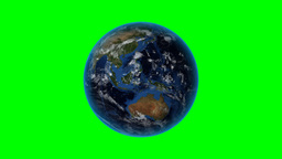 South Sudan. 3D Earth in space - zoom in on South Stock Video Footage