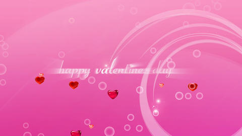 Happy Valentines Day stock footage