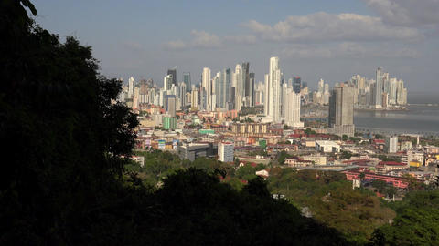 Panama City, Panama - January 10, 2015: View Of Ob Footage