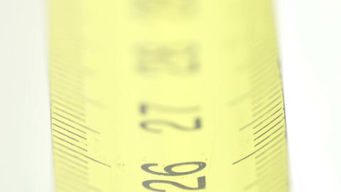 Black numbers on the yellow measuring tape Stock Video Footage