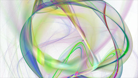 Seamless loopable abstract fractal flame HD backgr Stock Video Footage