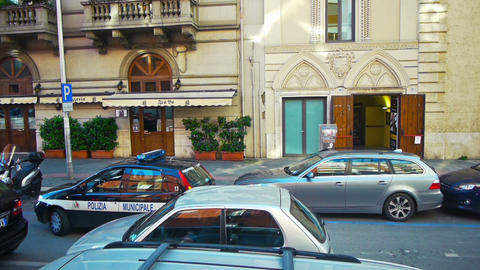 City view Bari, Puglia, Italy Stock Video Footage