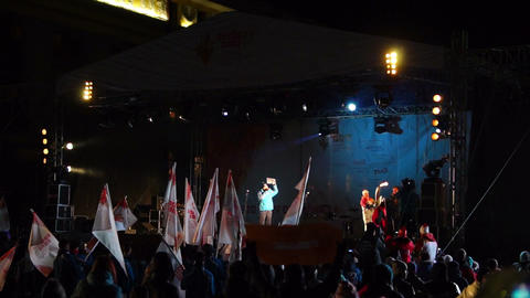 Olympic champions Evgenia Medvedeva and Alexander  Footage