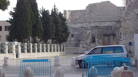 BETHLEHEM, PALESTINE -November, 03: Central square Footage