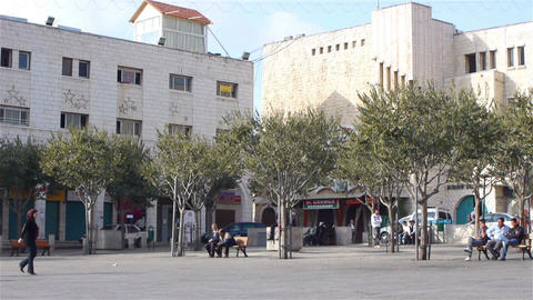 BETHLEHEM, PALESTINE -November, 03: Central square Footage