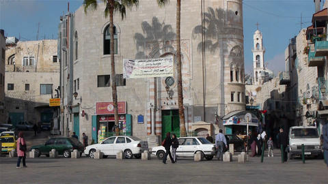 BETHLEHEM, PALESTINE -November, 03: Mosque on the Footage