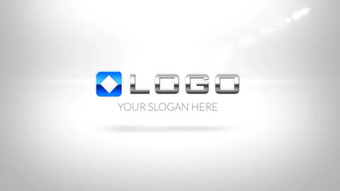 Simple Clean Business Logo Zoom Intro After Effects Template
