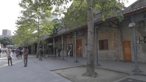 pan to huanshan spot warehouse Footage