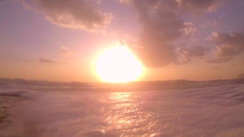 Romantic Mediterranean sea Footage