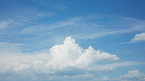 Timelapse Of Cloud stock footage