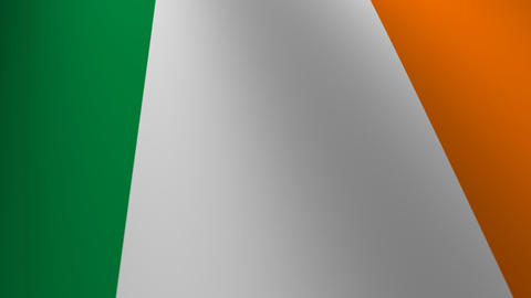 ireland flag loop Flags flags nation country Nations united Stock Video Footage