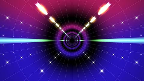 Neon Tunnel B HD Stock Video Footage