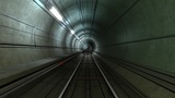 Subway Tunnel A HD stock footage