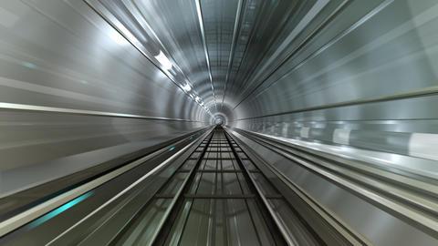 Subway Tunnel B HD Stock Video Footage