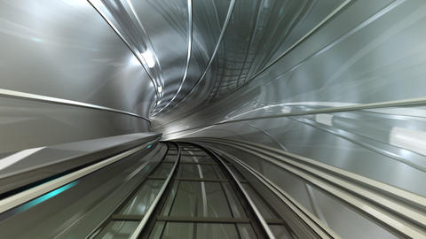 Subway Tunnel B HD Stock Video Footage