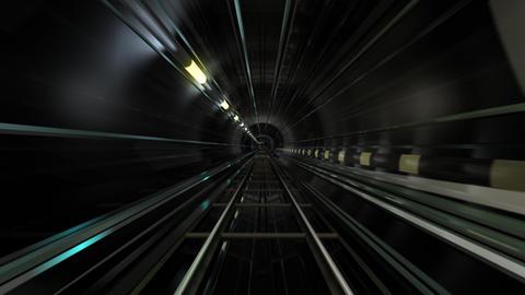Subway Tunnel C HD Stock Video Footage