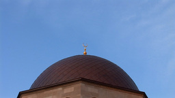 mosque kyiv 2 Stock Video Footage