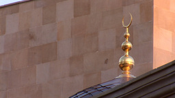 mosque kyiv 6 Stock Video Footage