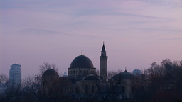 mosque kyiv 22 Stock Video Footage