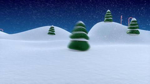 Christmas Intro Stock Video Footage
