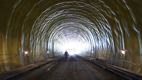 Tunnel 6 Stock Video Footage
