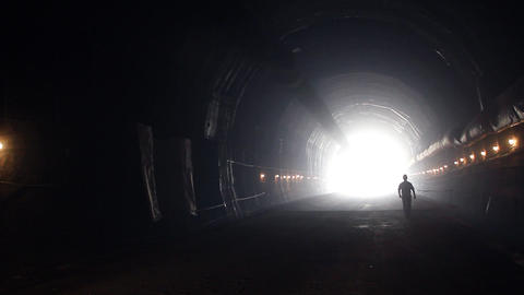 Tunnel 13 Stock Video Footage