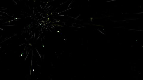 green fiber background,like as meteor,optical... Stock Video Footage