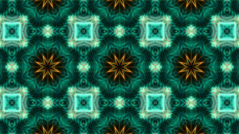 blue flower lotus fancy pattern,kaleidoscope,oriental... Stock Video Footage