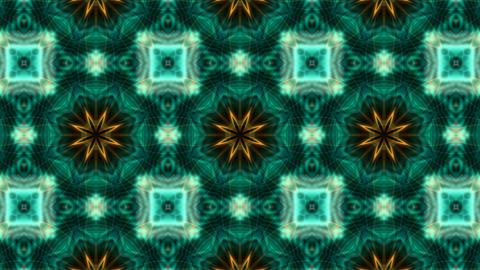 blue flower lotus fancy pattern,kaleidoscope,oriental... Stock Video Footage