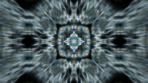 blue flower lotus pattern,kaleidoscope.Buddhism Mandala... Stock Video Footage