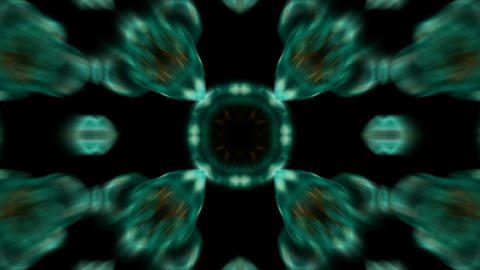 blue flower lotus pattern,kaleidoscope.Buddhism Mandala... Stock Video Footage