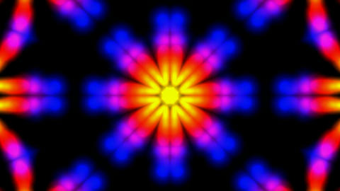 color flower lotus fancy pattern.Buddhism Mandala... Stock Video Footage