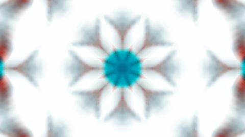 blue flower lotus fancy distortion,kaleidoscope.Buddhism... Stock Video Footage