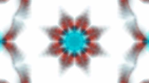 blue flower lotus fancy distortion,kaleidoscope.Buddhism... Stock Video Footage